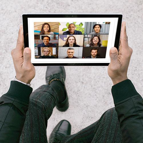 Videokonferenzen überall